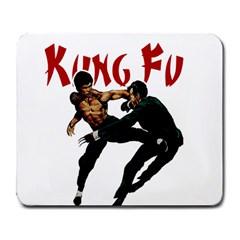 Kung Fu  Large Mousepads