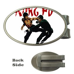 Kung Fu  Money Clips (Oval)