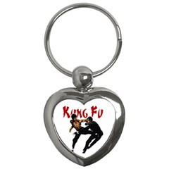 Kung Fu  Key Chains (Heart)