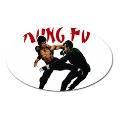 Kung Fu  Oval Magnet