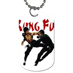 Kung Fu  Dog Tag (One Side)