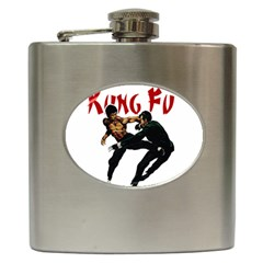 Kung Fu  Hip Flask (6 oz)