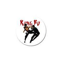 Kung Fu  Golf Ball Marker