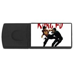 Kung Fu  USB Flash Drive Rectangular (1 GB)