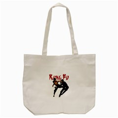 Kung Fu  Tote Bag (Cream)