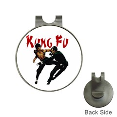 Kung Fu  Hat Clips with Golf Markers