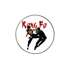 Kung Fu  Hat Clip Ball Marker (4 pack)