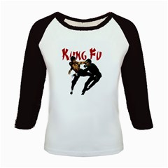 Kung Fu  Kids Baseball Jerseys