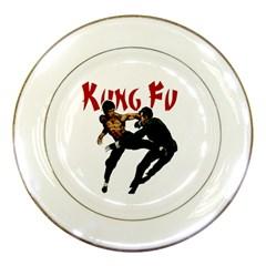 Kung Fu  Porcelain Plates