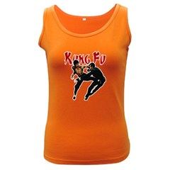 Kung Fu  Women s Dark Tank Top