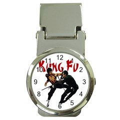 Kung Fu  Money Clip Watches