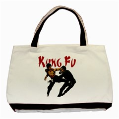 Kung Fu  Basic Tote Bag