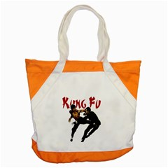 Kung Fu  Accent Tote Bag