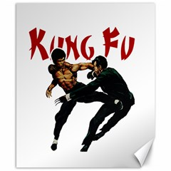 Kung Fu  Canvas 8  x 10