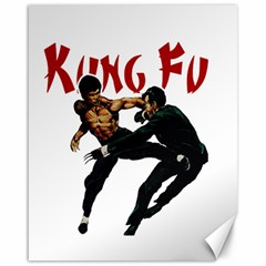 Kung Fu  Canvas 16  x 20