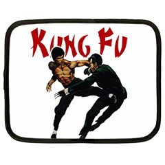 Kung Fu  Netbook Case (Large)