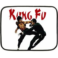 Kung Fu  Fleece Blanket (Mini)