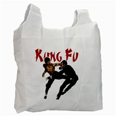 Kung Fu  Recycle Bag (Two Side)