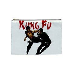 Kung Fu  Cosmetic Bag (Medium)