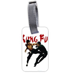 Kung Fu  Luggage Tags (Two Sides)