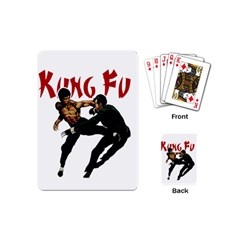 Kung Fu  Playing Cards (Mini)