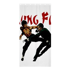 Kung Fu  Shower Curtain 36  x 72  (Stall)
