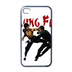 Kung Fu  Apple iPhone 4 Case (Black)