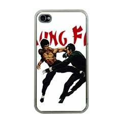 Kung Fu  Apple iPhone 4 Case (Clear)