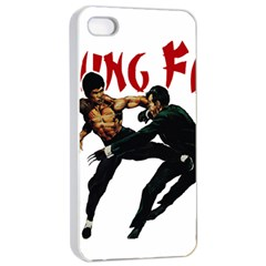 Kung Fu  Apple iPhone 4/4s Seamless Case (White)