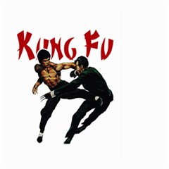 Kung Fu  Large Garden Flag (Two Sides)