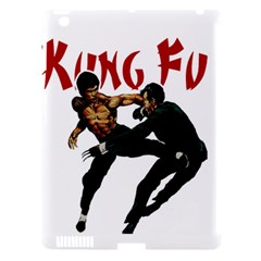 Kung Fu  Apple iPad 3/4 Hardshell Case (Compatible with Smart Cover)