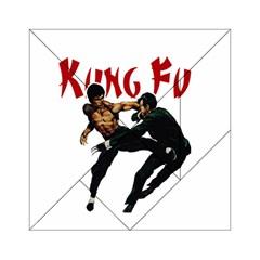 Kung Fu  Acrylic Tangram Puzzle (6  x 6 )