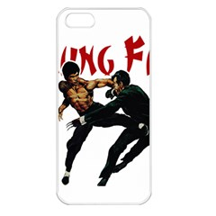 Kung Fu  Apple iPhone 5 Seamless Case (White)