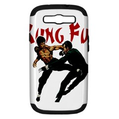 Kung Fu  Samsung Galaxy S III Hardshell Case (PC+Silicone)