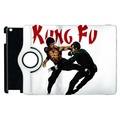 Kung Fu  Apple iPad 3/4 Flip 360 Case