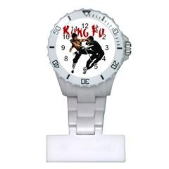 Kung Fu  Plastic Nurses Watch