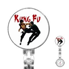 Kung Fu  Stainless Steel Nurses Watch