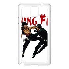 Kung Fu  Samsung Galaxy Note 3 N9005 Case (White)