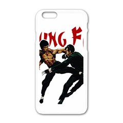 Kung Fu  Apple iPhone 6/6S White Enamel Case