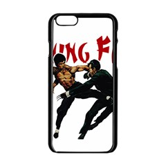 Kung Fu  Apple iPhone 6/6S Black Enamel Case