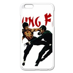 Kung Fu  Apple iPhone 6 Plus/6S Plus Enamel White Case