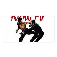 Kung Fu  Satin Shawl
