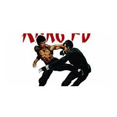 Kung Fu  Satin Wrap