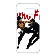 Kung Fu  Samsung Galaxy S7 edge White Seamless Case