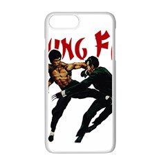 Kung Fu  Apple iPhone 7 Plus White Seamless Case