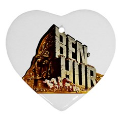 Ben Hur Ornament (Heart)