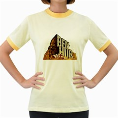 Ben Hur Women s Fitted Ringer T-Shirts