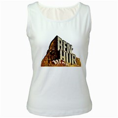 Ben Hur Women s White Tank Top