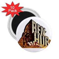 Ben Hur 2.25  Magnets (10 pack)