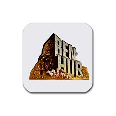 Ben Hur Rubber Square Coaster (4 pack)